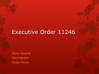 Executive Order 11246