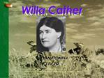 Willa Cather