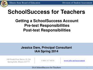 Jessica Dare, Principal Consultant IAA Spring 2014
