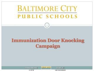 Immunization Door Knocking Campaign