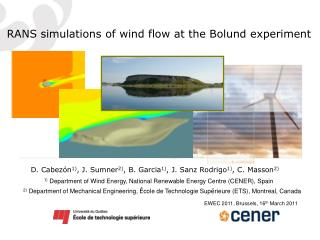 RANS simulations of wind flow at the Bolund experiment