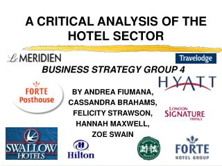 A CRITICAL ANALYSIS OF THE HOTEL SECTOR