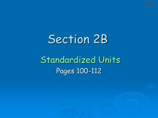 Section 2B