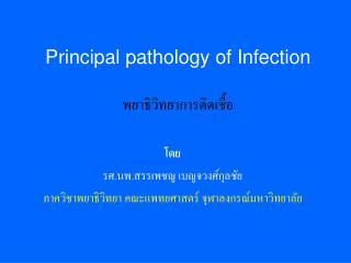 Principal pathology of Infection พยาธิวิทยาการติดเชื้อ
