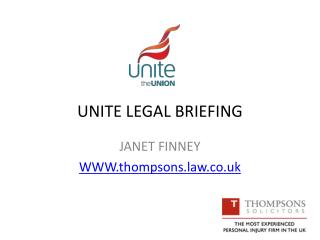 UNITE LEGAL BRIEFING