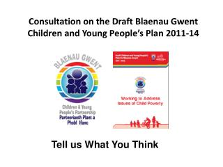 Consultation on the Draft Blaenau Gwent Children and Young ...