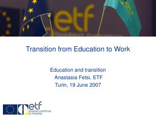 Transition from Education to Work