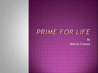 PRIME For Life