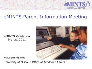 eMINTS Parent Information Meeting