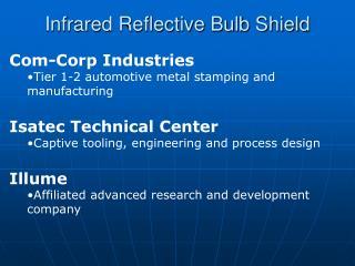 Infrared Reflective Bulb Shield