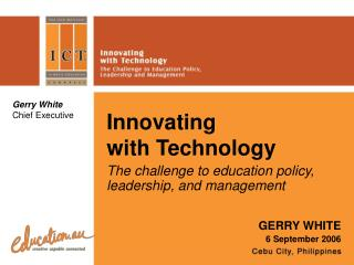 Innovating with Technology