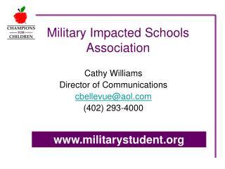 Military Impacted Schools Association