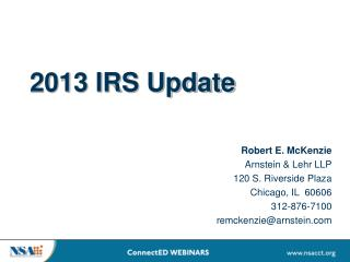 2013 IRS Update