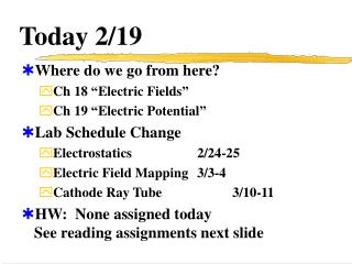 Today 2/19