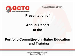Annual Report 2013/14