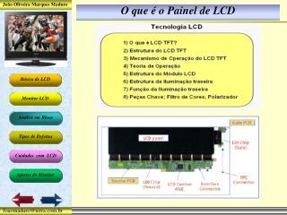 O que é o Painel de LCD