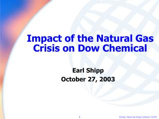 Impact of the Natural Gas Crisis on Dow Chemical