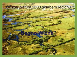 Obszar Natura 2000 skarbem regionu