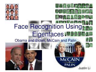 Face Recognition Using Eigenfaces