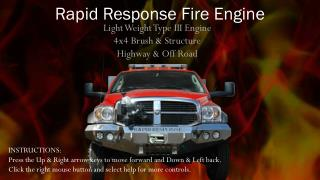 Rapid Response Fire Engine
