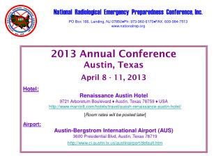 National  Radiological  Emergency  Preparedness  Conference, Inc.