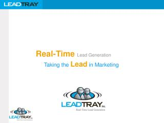 Real-Time Lead Generation