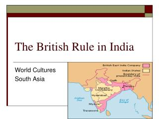 The British Rule in India