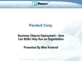 Panduit Corp.