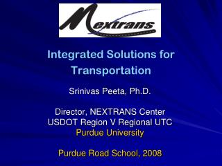Integrated Solutions for Transportation