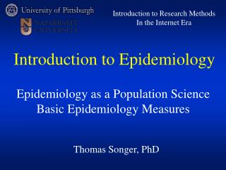 Thomas Songer, PhD