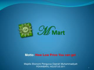 M Mart