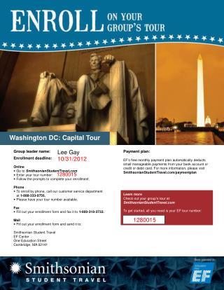 Washington DC: Capital Tour