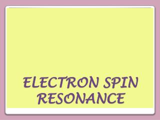 electron spin resonance dating archaeology Electron spin resonance (esr) dating of anthropologically important heidelberg and rainer grün et al 1999 journal of archaeological science 26 1301.