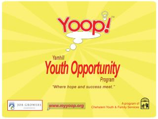 Youth Opportunity