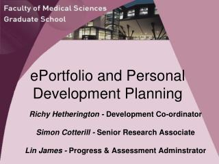 ePortfolio and Personal Development Planning