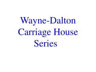 Wayne-Dalton Carriage House Series