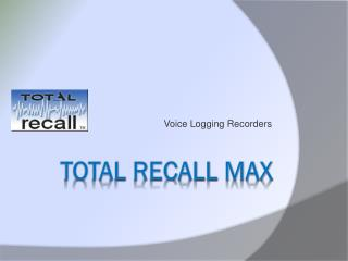 Total Recall MAX