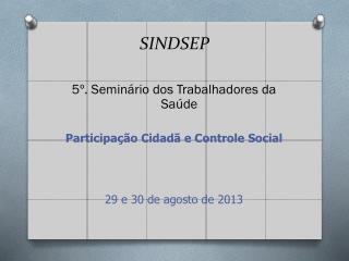 SINDSEP