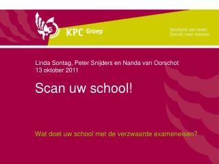 Scan uw school!