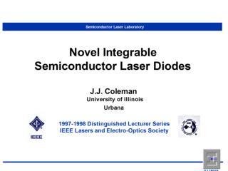 Semiconductor Laser Laboratory