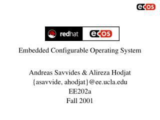 Embedded Configurable Operating System