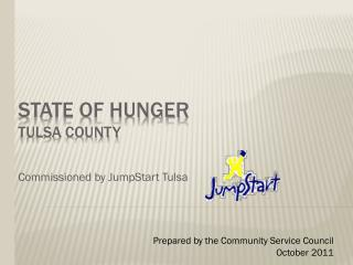 State Of HUNGER  tulsa County