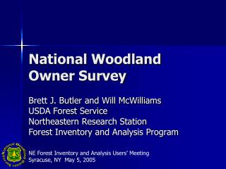 National Woodland Owner Survey