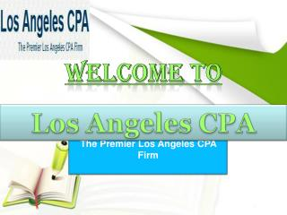 Professional Los Angeles Accounting and Los Angeles Business