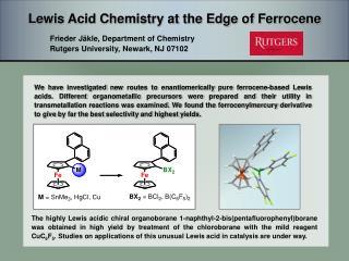 Lewis Acid Chemistry at the Edge of Ferrocene