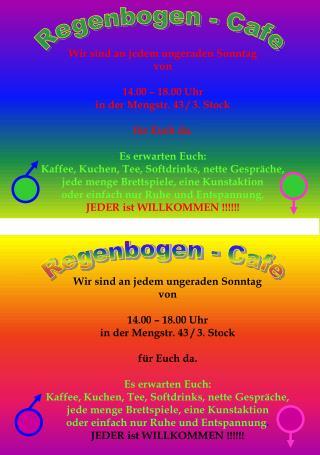 Regenbogen - Cafe