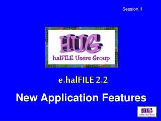 E.halFILE 2.2