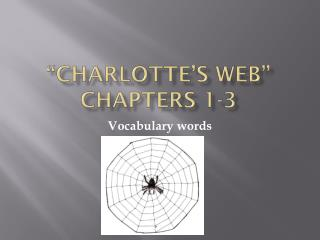 """Charlotte's Web"" Chapters 1-3"