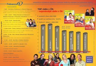 Nový program Frekvence 1 v roce 2011