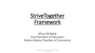 Metropolitan Atlanta College Access Summit                               June 11, 2014